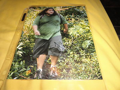 Lost Jorge Garcia  Autographed 8x10 Photo COA