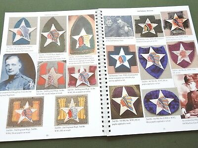 """""""emblems Of Honor Infantry Divisions Volume 1"""" Us Ww1 Ww2 Patch Reference Book"""