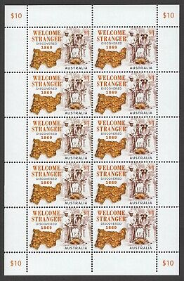 2019 Welcome Stranger: 150 Years (MUH) - Sheetlet of 10 stamps