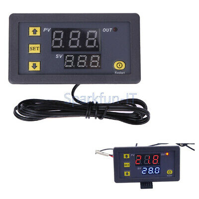 NEW W3230 LCD 12V 20A Digital Thermostat Temperature Controller Meter Regulator