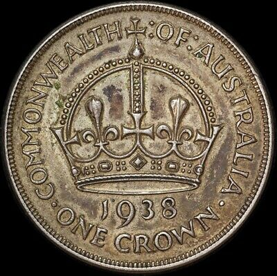 1938 Crown Very Fine