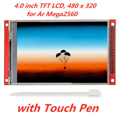 """Red 4.0"""" inch TFT LCD Touch Screen Display Module 480X320 for Arduino Mega2560"""