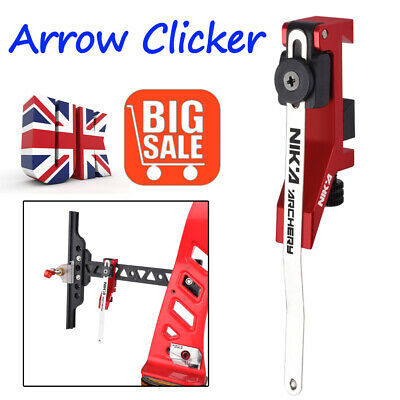 Arrow Clicker Mounted on Bow Sight Adjustable for sports Recurve Bow Shooting UK