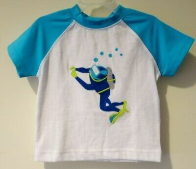 Brand New Kelly's Kids Spencer Appliqued Scuba Diver Shirt Size 3-4