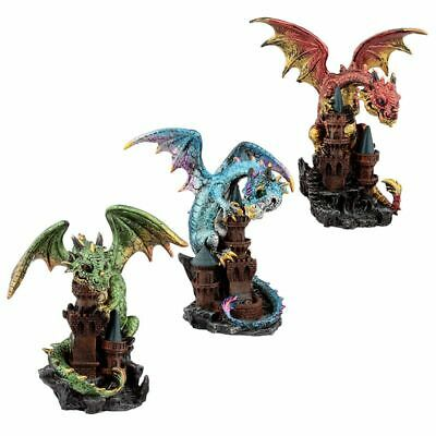 Castle Protector Elements Dragon Figurine (1 Random Supplied)