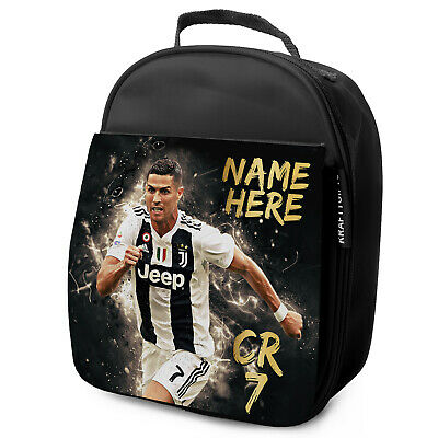 Ronaldo Lunch Bag CR7 School Insulated Childrens Football Personalised CR01