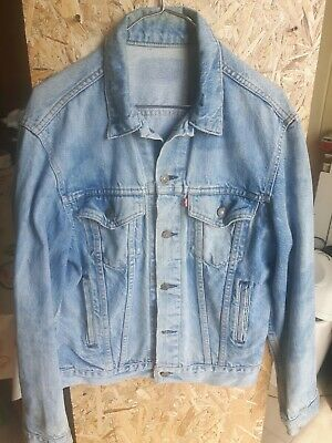 giacca jeans levi strauss anni 80