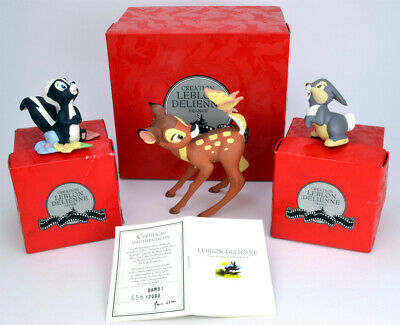 Leblon-Delienne - Disney - Bambi, Skunk, Thumper - limited edition