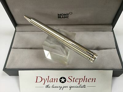 Montblanc Heritage collection 1912 stainless steel rollerball pen + box