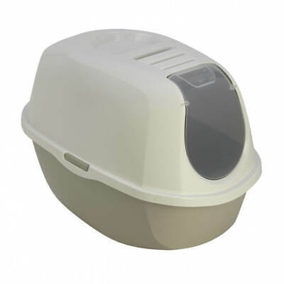 Bac Litiere Chat Filtre Anti Odeur Maison Chatiere Toilette Animalerie Neuf