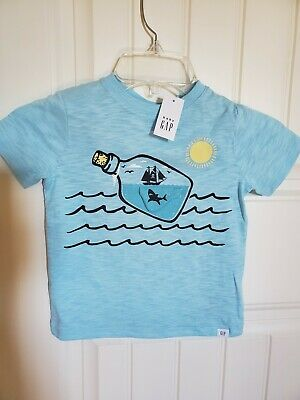 Baby Gap Toddler Graphic Short Sleeve T-Shirt Size 3 Years