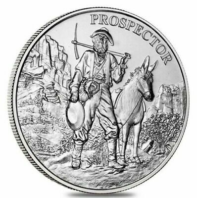 1 oz Provident Prospector .999 Fine Silver Round Elemental Mint Condition Coin