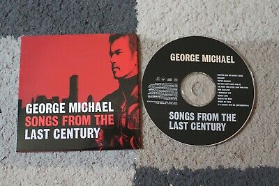 GEORGE MICHAEL 'Songs from the Last Century' 11-Track Promo CD 1999 RARE
