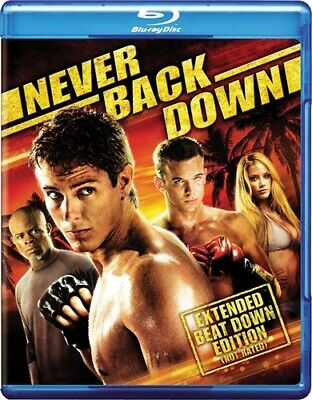 NEVER BACK DOWN New Sealed Blu-ray MMA
