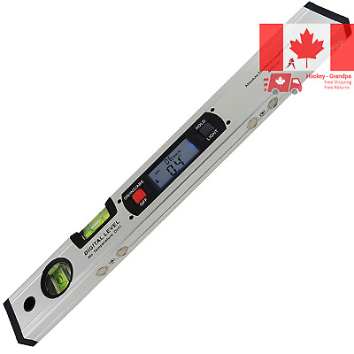 42cm Long Digital Level Inclinometer with Magnets Backlight Vertical & Horizo...