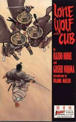 Lone Wolf and Cub (1987 series) #4 in Very Fine + condition. First comics [*2p]