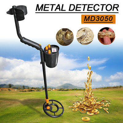 MD3050 Underground Metal Detector Gold Stud Finder Treasure Jewelry Digger tool