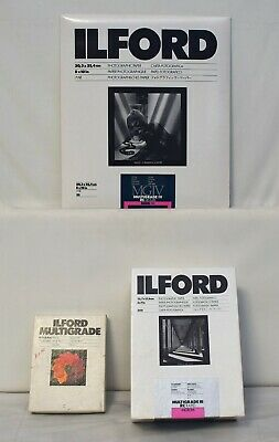 ILFORD Multigrade RC Deluxe Photograpic Paper and Filter Set