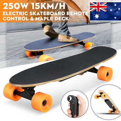 RC15km/h Electric Skateboard 7-Layer 250W Motor Maple Deck Wireless Gift Outdoor