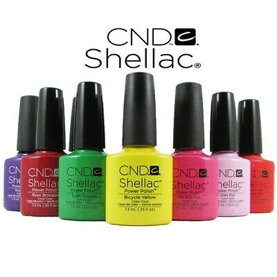 CND Shellac Top Coat 7.3 ml / 0.25 oz Power Polish Color Coat  FREE SHIPPING
