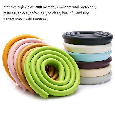 Baby Safety Desk Table Edge Corner Protector Cushion Guard Strip  Foam Bumper