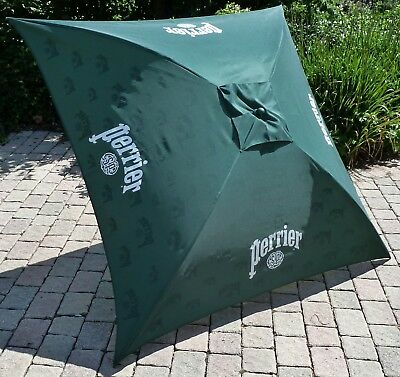 PERRIER EAU Parasol de terrasse carré inclinable 145x145 cm NEUF
