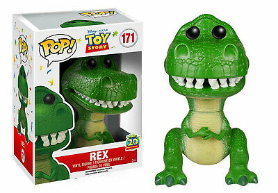 Funko Pop REX Toy Story Action Figure Toys 10cm Doll 171#