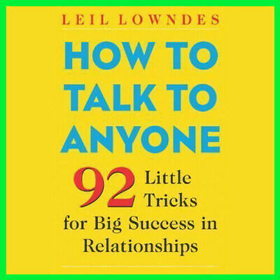 How to Talk to Anyone by Leil Lowndes (P.DF)⚡
