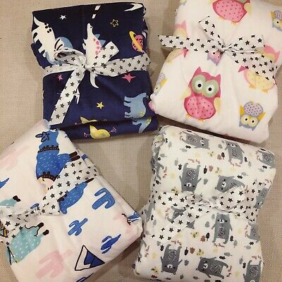 Baby Blanket Towel Wrap Quilt Swaddling With Dotted Shape Size 120cm*75cm