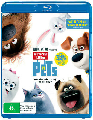 The Secret Life Of Pets (2016) [New Bluray]