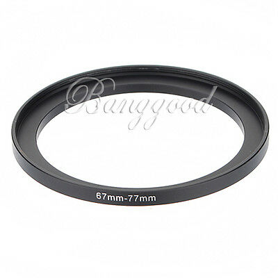 67-77mm 67mm-77mm 67 to 77 Metal Step Up Lens Filter Ring Stepping Adapter