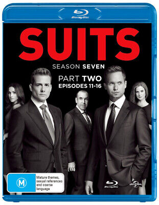 Suits: Season 7 - Part 2 (Episodes 11-16) (2017) [New Bluray]