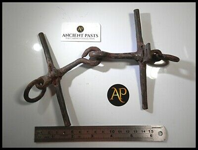 Extremely Rare Anglo-Danish Viking Era Iron Horse Bit – Cavalry Livery Conserved