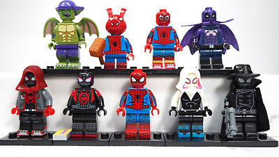 NEW Spiderman - Into The Spiderverse Minifigures Gift For Kids