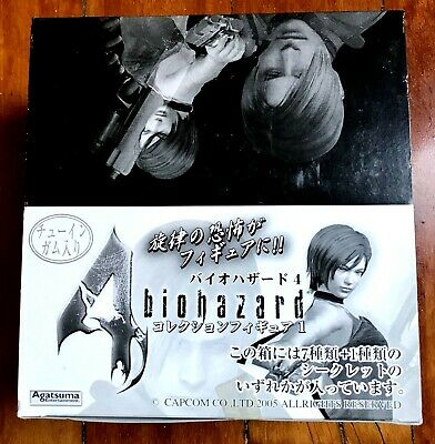 Biohazard 4 Resident Evil Figure Collection Serie 1 2005 Japan Brand New Factory