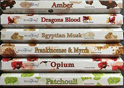 Pack Of 20 Stamford Premium Incense Sticks, Free Uk P&P, Many Scents Available