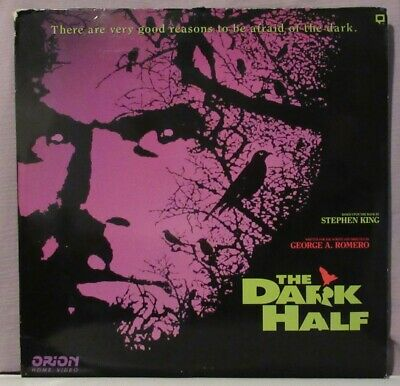 Stephen King's The Dark Half Laserdisc 2 Disc Version George A. Romero
