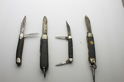 OLDER USA MADE Scout Knives Lot of Three - Pal, Imperial