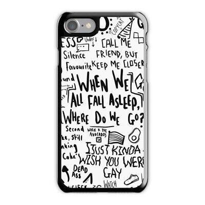 Billie Eilish Quote Phone Case fit for iPhone 5 6s 6 Plus 7S 8 Plus X/XS,Youtube