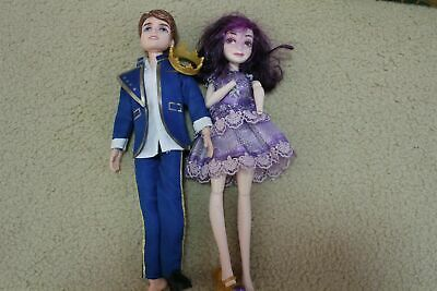 disney descendents 4 mal maleficent and ben king girls dolls for play doll lot