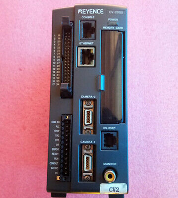 1PC Used KEYENCE Visual Controller CV-2000