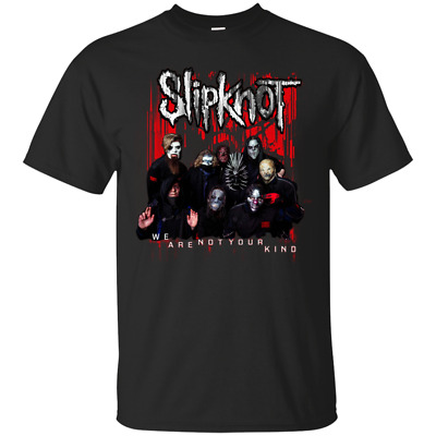 Slipknot Official We Are Not Your Kind Red Group Black Men's T-Shirt