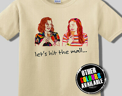 Stranger Things Elle and Max T-Shirt Tee, T Shirt Adult Starcourt Mall FAN ART
