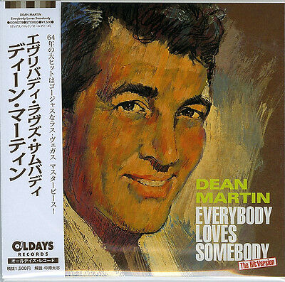 Dean Martin-Everybody Loves Somebody-Japan Mini Lp Cd Bonus Track C94