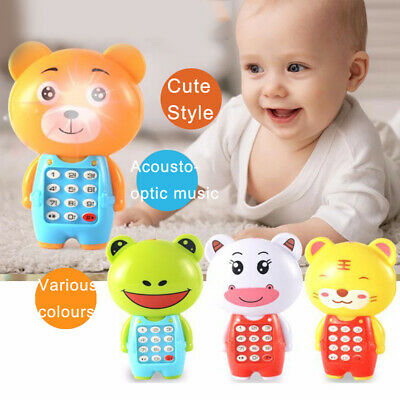 Baby Toys Music Cartoon Mobile Phone Educational Developmental Kids Toy Gift