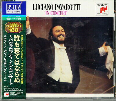Luciano Pavarotti-In Concert-Japan Blu-Spec Cd2 D20