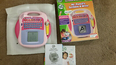 LeapFrog Mr. Pencil's Scribble and Write Pink Purple