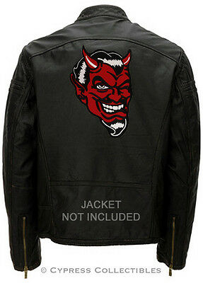 666 - IRON-ON PATCH NEW EMBROIDERED DEVIL SATANIC EVIL