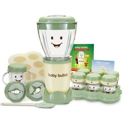 Baby Bullet Food Making System (20-Piece Blender and Storage White green