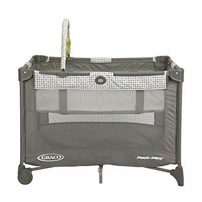 Graco-Pack-N-Play-Girls-with-Auto-Fold-Feet-Placard-Priscilla-BRAND-NEW